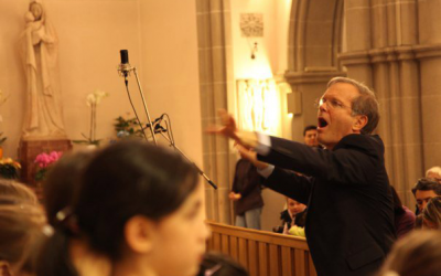 Paul-conducting-in-church